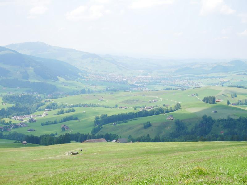 スイスの酪農家